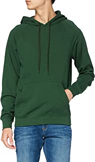 Fruit of the Loom Men's Pull-over Lightweight Hooded Sweat