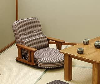 中居木工 肘付回転座椅子 NK-2200