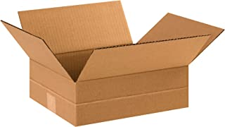 BOX USA BMD12104 Multi-Depth Corrugated Boxes, 12