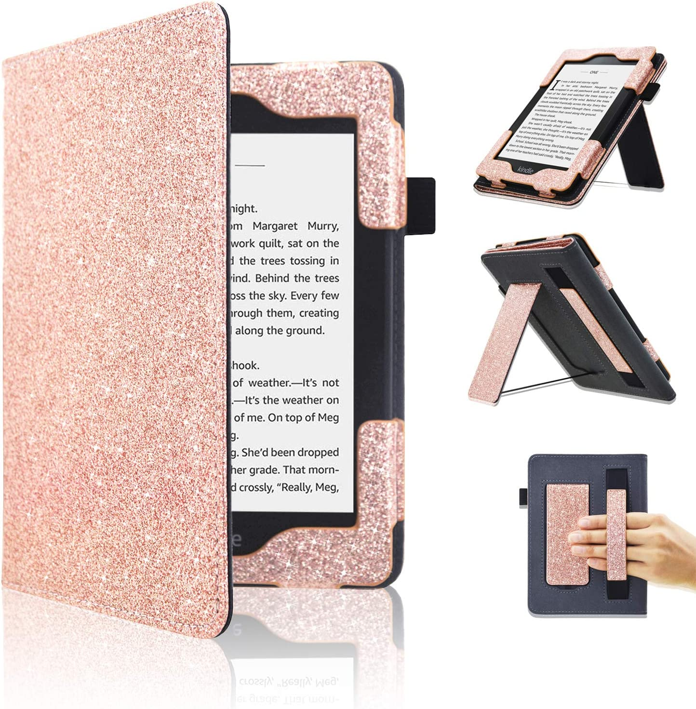 ACdream Kindle Paperwhite Case 2018, Support Strap Folio Smart C