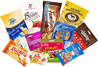 TASTE OF POLAND SWEET BOX - NOT MELTING EDITION packing by Granda. 2.5 lb . TRADITIONAL POLISH SWEETS, 10 COUNT