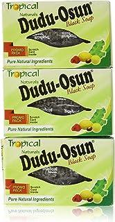 3 Pack Tropical Naturals Dudu-Osun Black Soap Pure Natural Ingredients 5 Oz. US Ship