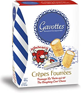 Gavottes – Crepes filled with La Vache Qui Rit cheese, 60g (Pack of 1)