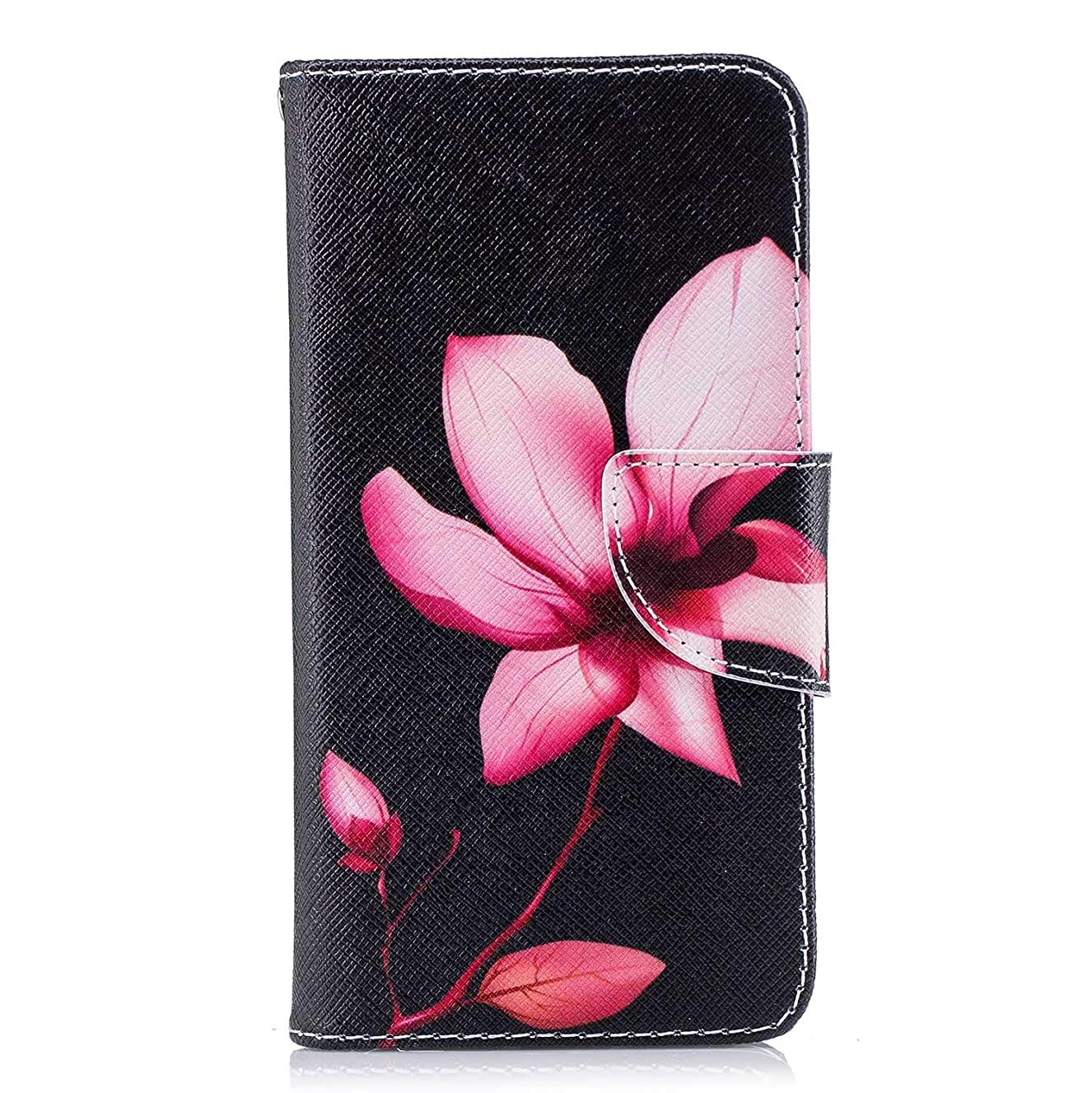 バケツ無力ブロックOMATENTI Xiaomi Redmi 4X ケース, ファッション人気 PUレザー 手帳 軽量 電話ケース 耐衝撃性 落下防止 薄型 スマホケースザー 付きスタンド機能, マグネット開閉式 そしてカード収納 Xiaomi Redmi 4X 用 Case Cover, 花