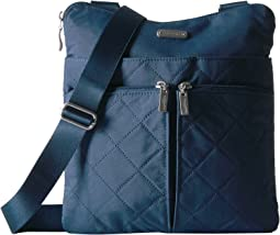 Baggallini Quilted Horizon Crossbody with RFID Wristlet