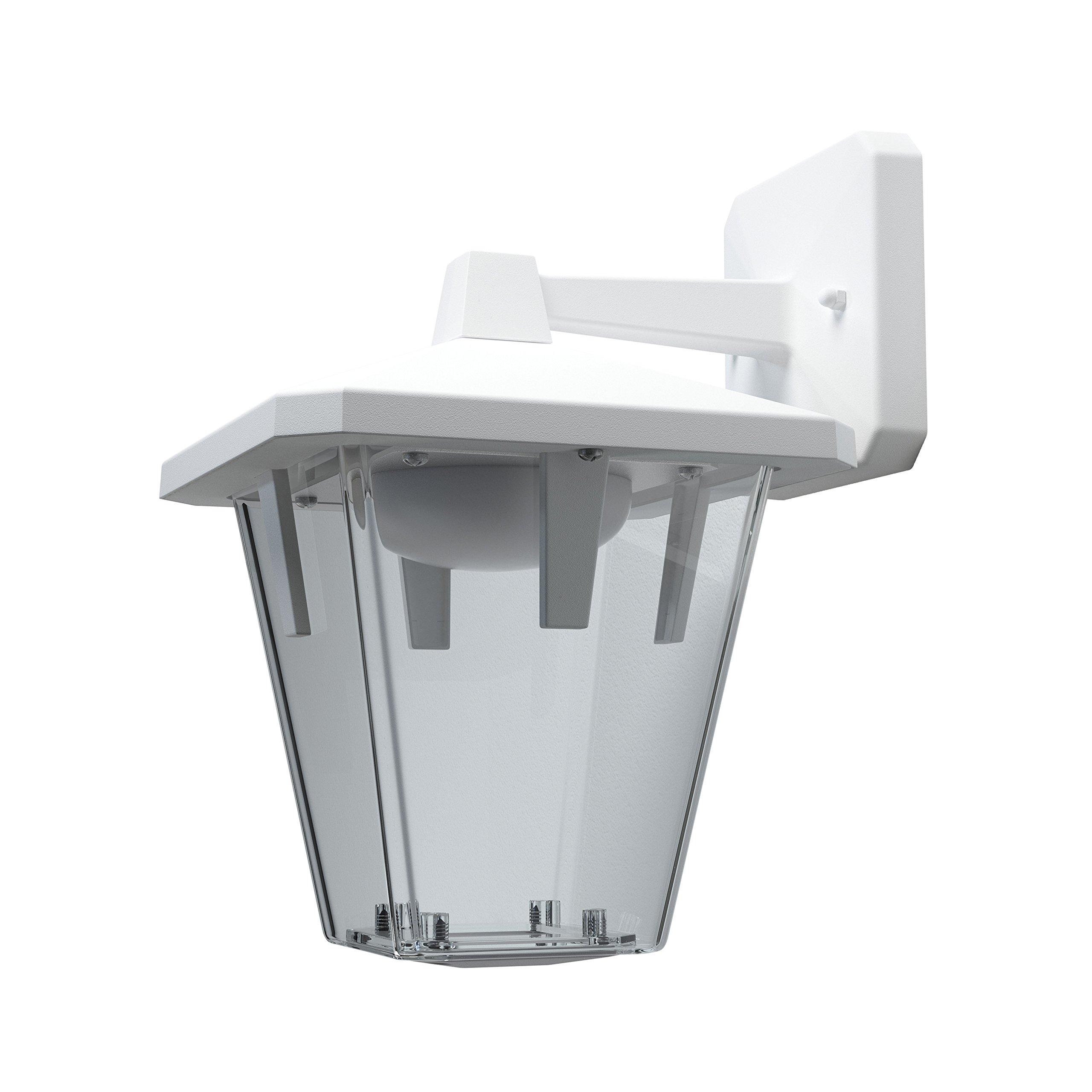 Osram EnduraスタイルランタンクラシックダウンLEDウォールライト屋外照明、暖かい白、10ワット
