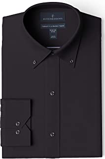 Best men's black button down dress shirt Reviews
