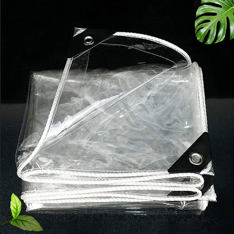 GUOTIAN Max 77% Ranking TOP10 OFF Waterproof Tarpaulin 0.5mm C Transparent Thick