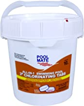 Pool Mate 1-1410M All-in-1 Swimming Pool 3-Inch Chlorinating Tablets, 10-Pound