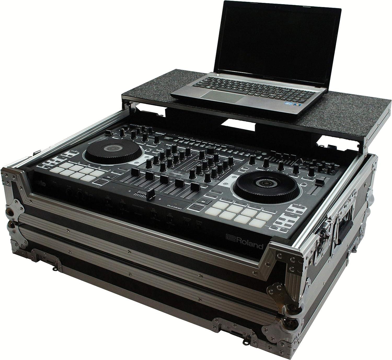 Harmony HCDJ808LT Flight Glide mart Laptop Case Direct sale of manufacturer Compa Stand DJ Custom