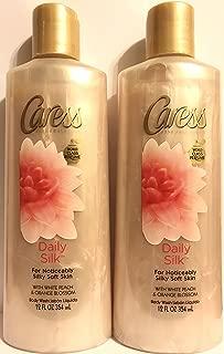 Caress Daily Silk Silkening Body Wash 12 oz (Pack of 2)