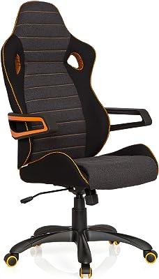 DXRacer OH/RF0/NO Silla Gamer, Acero, Negro y Naranja ...