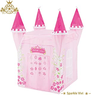 Bestmart INC Princess Castle Play Tent Designer's Play Outdoor House Play Hut Children's Play Tunnels