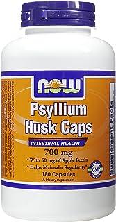 NOW Foods, PSYLLIUM HUSK 700mg + PECTIN 180 CAPS ( Multi-Pack)