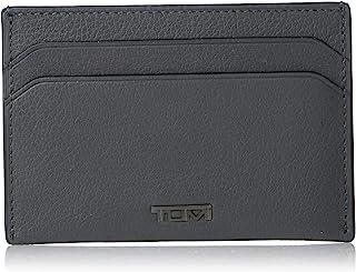TUMI - Nassau Money Clip Card Case Wallet with RFID ID Lock for Men - Grey Texture