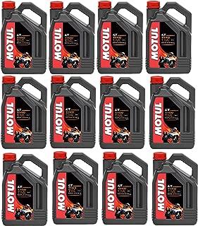 Motul 104092 Set of 12 7100 4T 10W-40 Motor Oil 1-Gallon Bottles