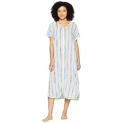 Donna Karan Printed Maxi Sleepshirt (Sterling Print) Women