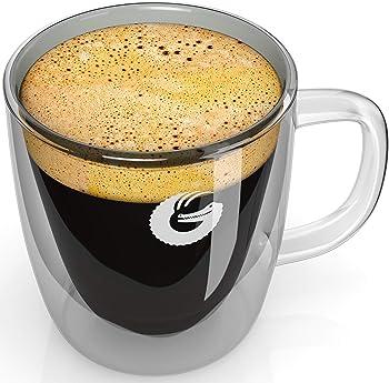 Coffee Gator Insulated Glass Mug