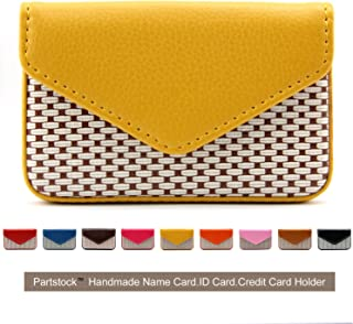 Partstock Multipurpose PU Leather Business Name Card Holder Wallet Leather Credit card ID..