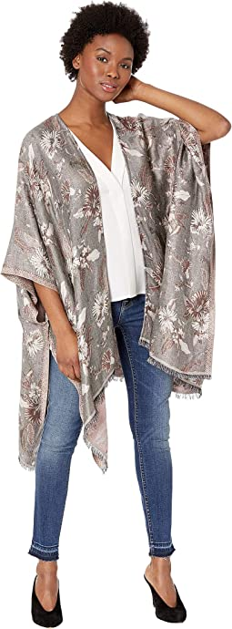 Floral Lurex Jacquard Cover-Up