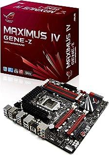 Asus Maximus IV gene-z–LGA 1155–z68–Republic Of Gamerシリーズ–mATX Intel z68Micro ATXマザーボードddr32200