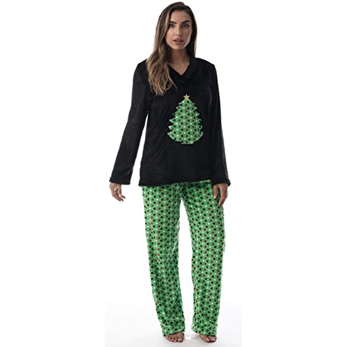 Plus Size Christmas Pajamas.Womens Plus Size Christmas Pajamas Amazon Com