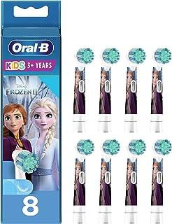 Oral-B Kids Opsteekborstels voor elektrische tandenborstel, 8 stuks, voor kinderen vanaf 3 jaar, extra zachte borstelhare...