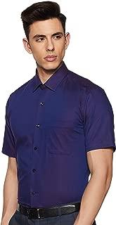 Louis Philippe Men's Printed Slim fit Formal Shirt