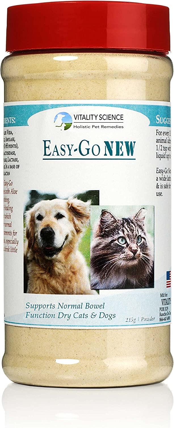 Easy Go   Supports Normal Bowel Function for Cats and Dogs (215g)