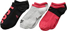 Performance Lightweight Low Training Socks 3-Pair Pack (Little Kid/Big Kid)