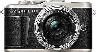Olympus Pen E-PL9 Kit Cámara de Sistema Micro Cuatro Tercios (161 MP Estabilizador de Imagen de 5 Ejes Visor Electrónico 4K Vídeo) + Objetivo M.Zuiko 14-42mm EZ Negro/Plata