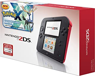 Nintendo 2DS Crimson Red With Pre-installed Pokémon X Game