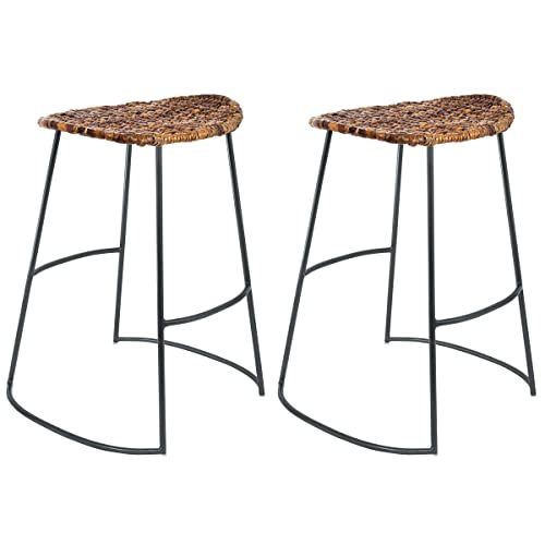 Fine Seagrass Bar Stools Amazon Com Short Links Chair Design For Home Short Linksinfo