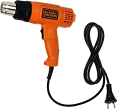 BLACK+DECKER KX1800 1800-Watt Dual Temperature Heat Gun (Orange and Black)