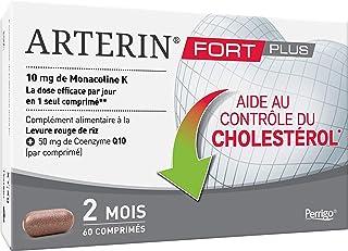 Arterin Fort Plus - Aide au Contrôle du Cholestérol* -Complément Alimentaire à base de Levure de Riz Rouge et de Coenzyme ...