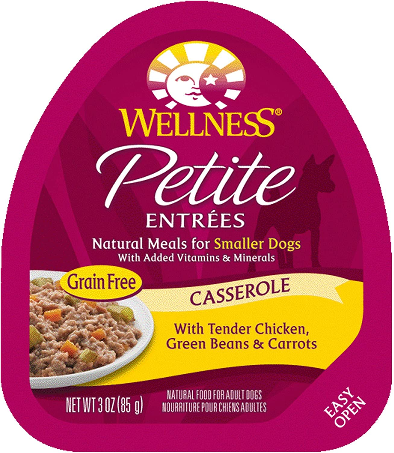 New sales Wellness Petite Entrees Max 66% OFF Casserole Natural Grain Chicken Gr Free