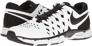 (ナイキ) NIKE メンズランニングシューズ?スニーカー?靴 Lunar Fingertrap TR White/Black 10 (28cm) 4E - Extra Wide