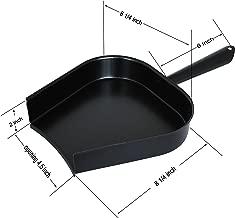 Dracarys BBQ Grill Ash Pan Green Egg Accessories, Removal Metal Pan Big Green Egg Ash Pan Charcoal Grill Accessories Charcoal Grill Tools Works for Large and Medium BGE and Kamado Joe Etc.
