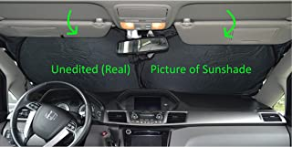 A1 Shades Windshield Sun Shade Exact-Fit-240T Size Chart for Cars SUV Trucks Minivans Sunshades Keeps Your Vehicle Cool Heat Shield (Large.)