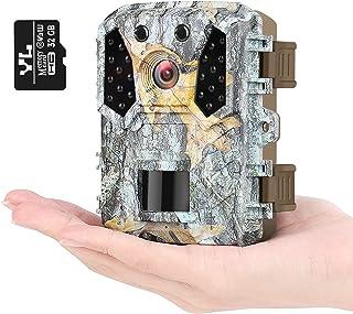 KUFA Mini Trail Camera 16MP 1080P, Free 32GB SD Card,...