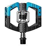 Crankbrothers Mallet Enduro Pedal black/electric blue 2017 Pedale