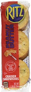Nabisco Ritz Peanut Butter Sandwich Filled Crackers, 11.04 oz
