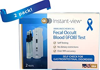 immunochemical Fecal Occult Blood (iFOB) Home Test and Stool Test for Colorectal Diseases