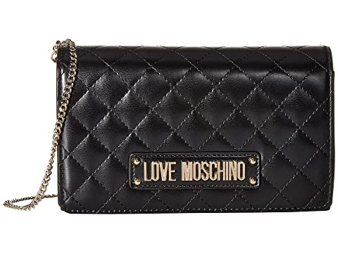 LOVE Moschino Quilted Evening Crossbody Bag