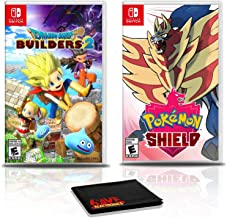 Dragon Quest Builders 2 Game Bundle with Pokemon Shield - Nintendo Switch