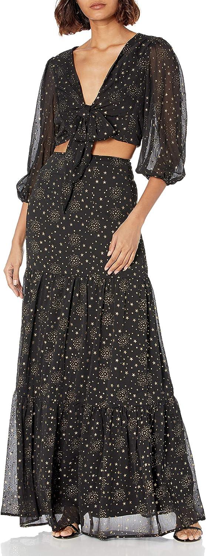 Minuet Women's Starry Night 2 Piece Dress