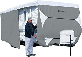 Classic Accessories 73163  OverDrive PolyPro 3 Deluxe Travel Trailer Cover, Fits 18' - 20',Grey