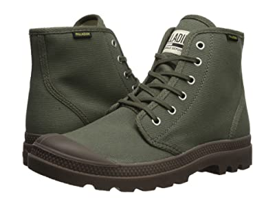 Palladium Pampa Hi Originale (Olive Night/Black) Lace-up Boots