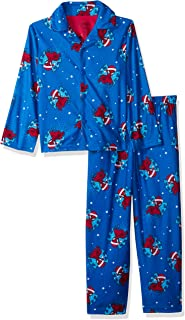 Marvel Boys' Spiderman Holiday 2-Piece Pajama Coat Set