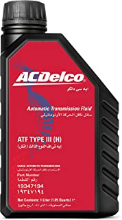ACDelco Automatic Transmission Fluid ATF TYPE III (H) 1L